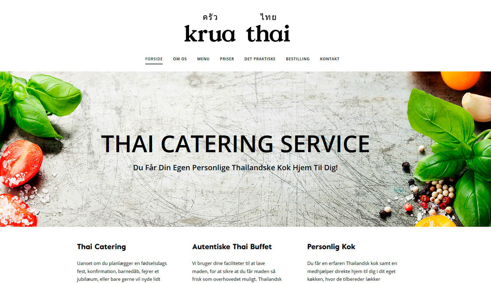 Krua Thai Catering